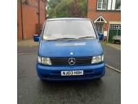 2003 Mercedes Vito Diesel Van