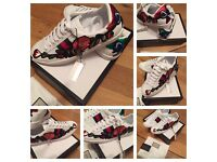 Gucci Girls Women Female Trainers Sneakers Shoes Footwear Size 6