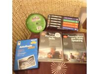 Various DVDs. Office Training, Golf and autoroute