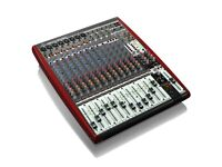 Behringer Xenyx UFX1604 16-Input 4-Bus Mixer with integrated 16 track recorder