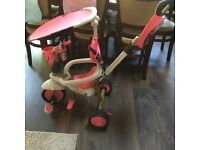 SmarTrike little tikes 3 in 1 tricycle in pink collection only