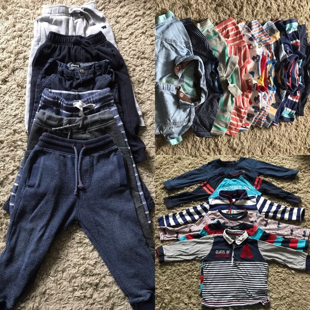 24items- Boy assorted clothing bundle 18-24months