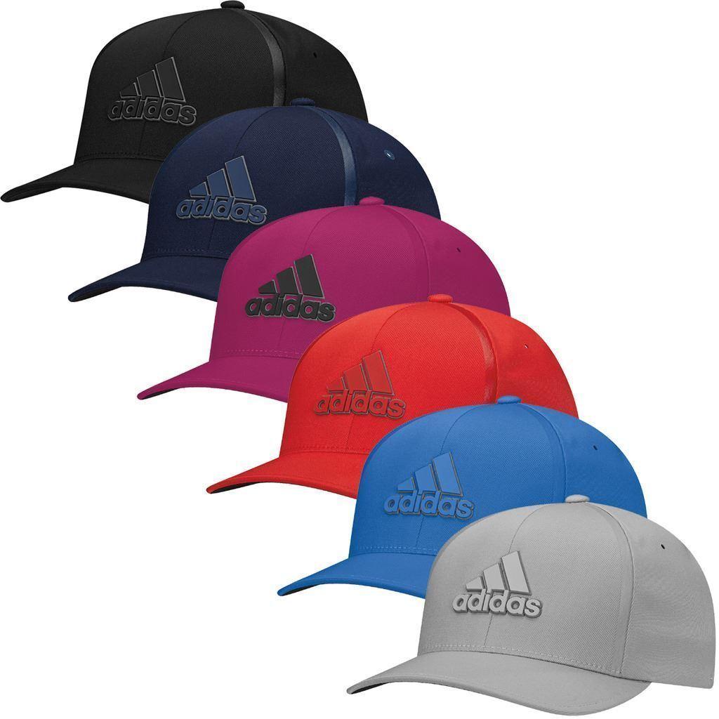 de9ad1c4b6d adidas TaylorMade Golf Delta Flex-Fit Hat Structured Mens Golf Cap ...