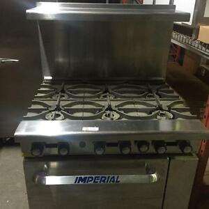 Commercial Stove - Imperial Range - 6 Burners - NEW w/ REDUCED PRICE - iFoodEquipment.ca