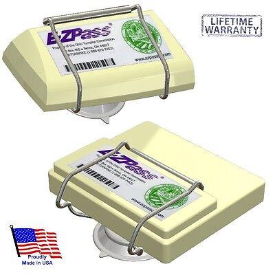 Toll Pass Holder For New   Old Ezpass  Ipass Izoom Fastrak Nc Quickpass Palpass
