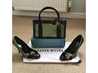 Karen Millen handbag and shoes