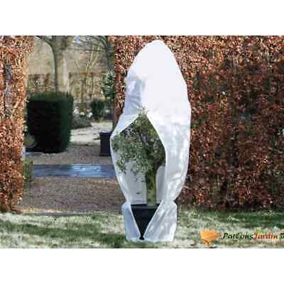 Nature Winter Cover Fleece With Zip 250x250x300cm White Plant Protection Bag