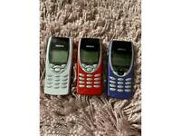 Nokia 8210 blue red and white unlocked new