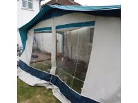 Bradcot Active Awning. 870-895. used but in good condition