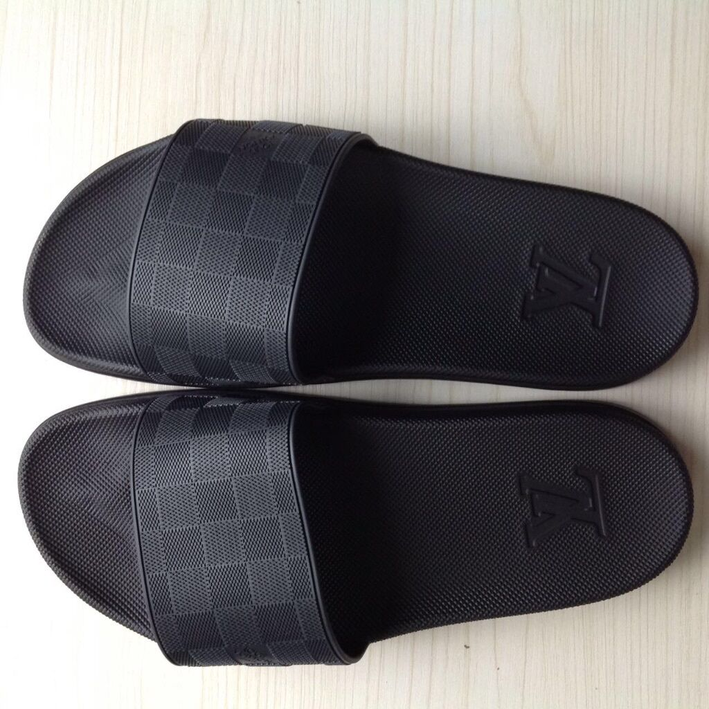 Louis Vuitton Men S Waterfront Mule Slide Slippers Uk Size