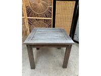 Hardwood Garden Small Table