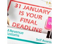 NOTTINGHAMSHIRE ACCOUNTANT'S SELF ASSESSMENT TAX RETURNS FROM £99 - 31ST JANUARY DEADLINE