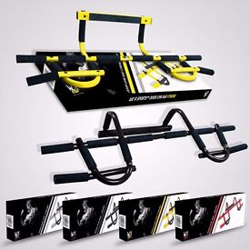Door Gym Exercise Iron Man Bar Chin Up Pull Up Sit Up Fitness Workout Bar