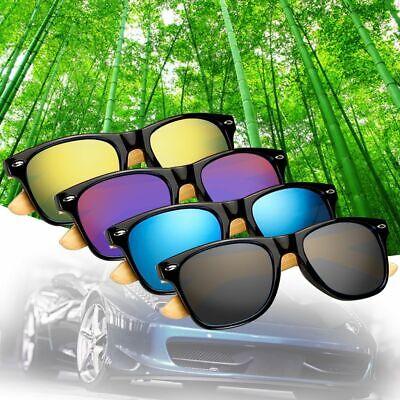 2020 Mens Womens Bamboo Sunglasses Summer Glasses Wooden Retro Vogue (Vogue Sunglasses Men)