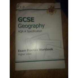 GCSE Geography AQA workbook