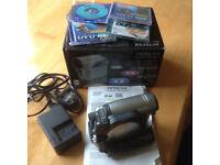 Hitachi DVD video camera/recorder