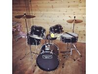 "Mapex Tornado 18"" drum kit full set new! RRP: £330!"