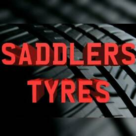 Saddlers Tyres, Walsall. Brand New & Part Worn Tyres. Most Sizes in stock!