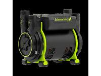New Salamander CT75XTRA Shower Pump 2.0 Bar Twin Impeller Positive Head Regenerative