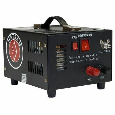 Hatsan TactAir Spark Portable PCP Compressor - 4500 PSI, 12V, Black, HA91005