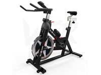 Excellent condition RevXtreme Indoor Cycle Studio Exercise bike + mat and gel saddle