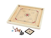 "Carrom Wooden Board Game Beautifully made 33""x33"" (84x84cm) Karrom"