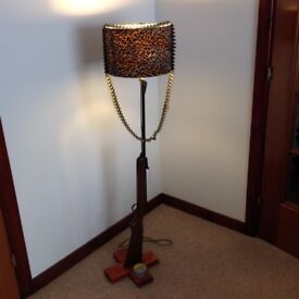 Standard Lamp for a Mancave