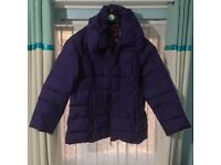 Per Una Padded Purple Jacket - XL