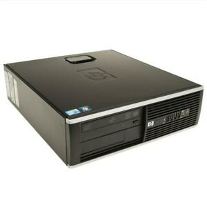 HP Pro SFF Desktop 8GB RAM 1TB HardDrive DVD Windows7 Professional MS Office 2016 Pro Mint