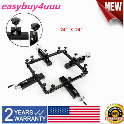 24x24 Manual Stretching Screen Frame High Precise Stretcher Fast Shiping Us