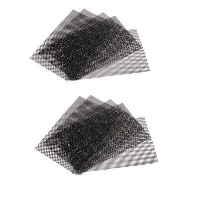 10 x Blumentopf Bottom Net Bonsai Mesh Blatt Kunststoff Drainage Net 30 x 20 (Blumentopf Net)