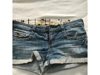 Next denim shorts
