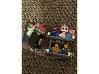 Lego movie double decker couch set