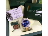 Rolex Submariner 116613 Gold Steel 2014