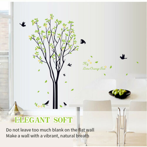 Family Tree Wall Decal Sticker Large Vinyl Photo Picture Frame Home Room Decor - $5.69