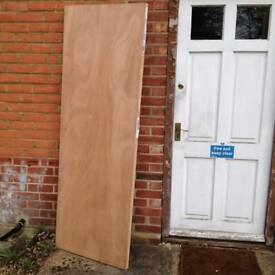 """fire resisting door 2'-3"""" wide brand new ready for painting"""