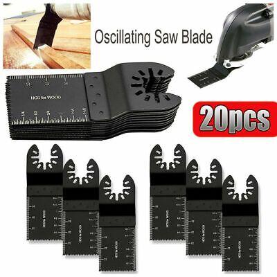 20 Pcs Oscillating Multi Tool Saw Blade For Fein Multimaster Bosch Dremel Makita