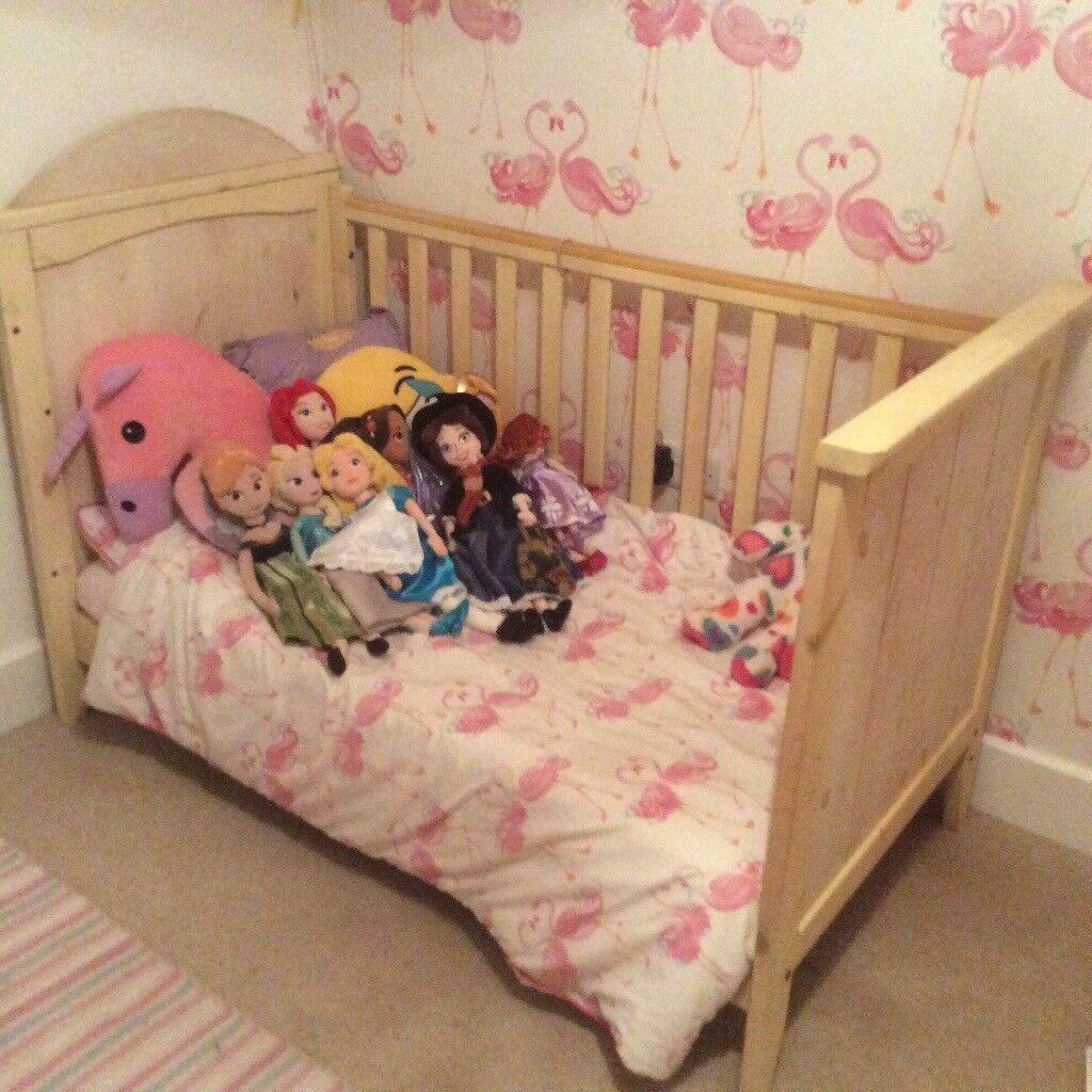 John Lewis Baby Toddler Child Nursery Furniture Cot Bed, Wardrobe, Changing Unit