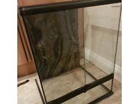 Terrarium for Sale £58ono 45x45x62 worth over £100!