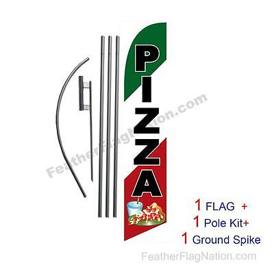 2 Swooper Flutter Feather Flags plus 2 Poles /& Ground Spikes LOANS Dollar Sign Yellow Red Green