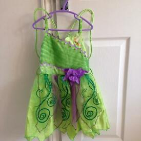 Tinkerbell costume age 5-6