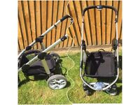 I candy apple 2 pear pushchair and all attachments