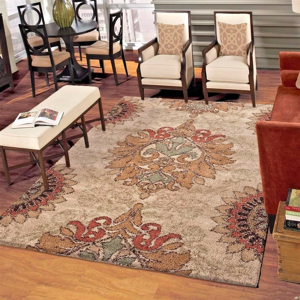 Details About Rugs Area Rugs Carpets 8x10 Rug Large Modern Big Floor Plush Living Room Rugs