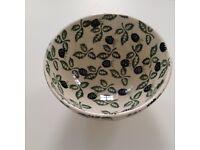 Emma Bridgewater rare Blackberry design French Bowl, perfect condition