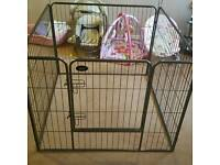 Dog enclosure cage