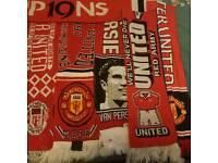Man utd scarves