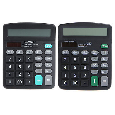 Battery Powered Large Buttons Desktop Desk Digit Calculator