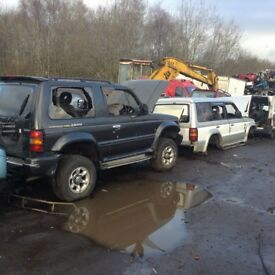 Wanted scrap mitsibushi jeeps