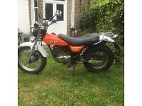 PRICE REDUCTION! Suzuki Van Van vanvan 125cc motorbike. Low mileage. Brand new MOT. £1200