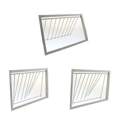 3pcs Durable Iron Pigeon Bird Entrance Trap Loft Window Door for Bird Pigeons
